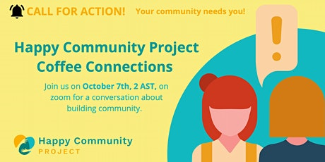 Happy Community Project Coffee Connections tickets