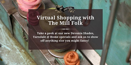 Virtual Shopping with The Mill Folk tickets