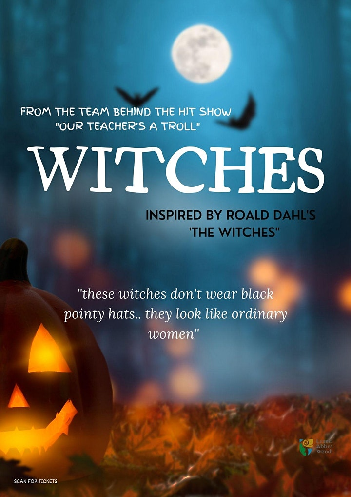 WITCHES in Lesnes Abbey- inspired by Roald Dahl's 'The Witches' image