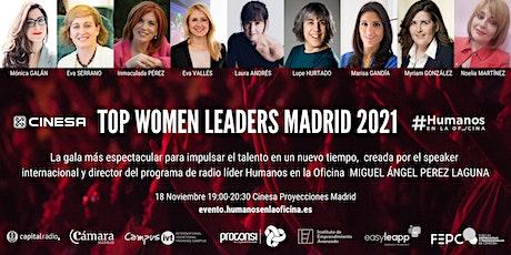 Gran Gala Top Women Leaders Madrid 2021. Vamos a reiniciar el mundo! tickets