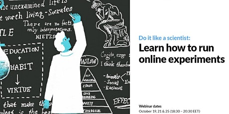 Do it like a scientist: Learn how to run online experiments tickets