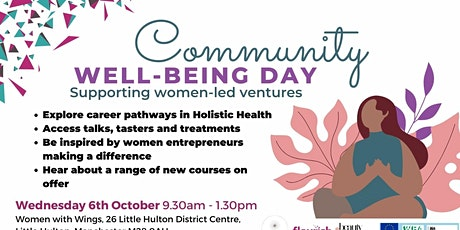 Community Well-being Day - Salford tickets
