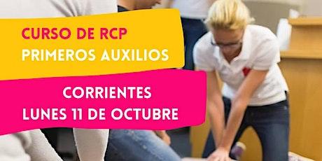 CORRIENTES - 11/10 CURSO RCP Y PRIMEROS AUXILIOS EN CORRIENTES entradas