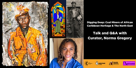 Digging Deep Exhibition Talk and Q&A with Curator, Norma Gregory tickets
