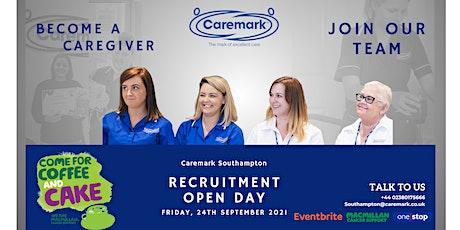 Recruitment Open Day- Caremark Southampton tickets