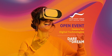 Open Event at South Essex College, Centre for Digital Technologies 2021-22 tickets