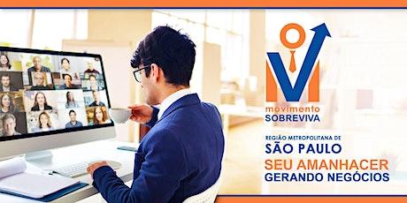 Encontro virtual de Networking ingressos