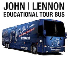 The John Lennon Educational Tour Bus logo