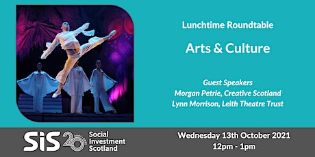Lunchtime Roundtable - Arts & Culture tickets