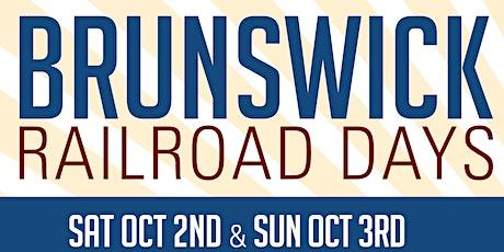 2021 Brunswick Railroad Days Train Rides tickets