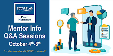 Q&A Sessions: Mentoring with SCORE Pasco Hernando (Fla.) tickets