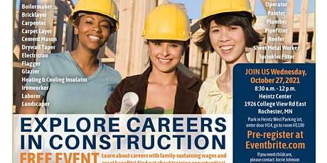 Explore Careers in Construction tickets