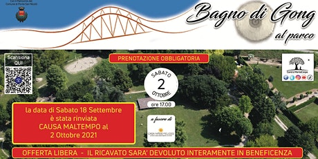 Bagno di Gong al Parco - Evento di Beneficenza biglietti