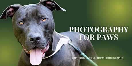 Photography For Paws tickets