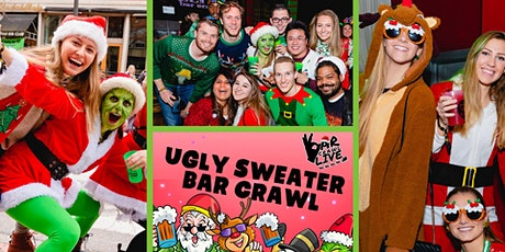 Official Ugly Sweater Bar Crawl | Charlotte, NC - Bar Crawl LIVE! tickets
