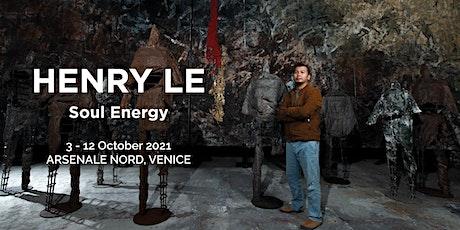 Soul Energy - Henry Le solo exhibition biglietti