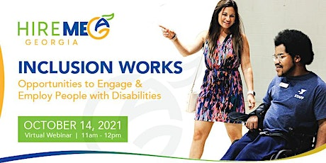 Inclusion Works - Opportunities to Engage & Employ People with Disabilities tickets