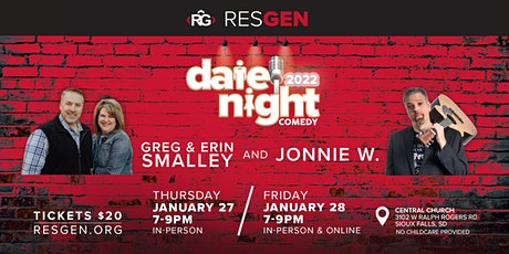 Date Night Comedy 2022 (IN-PERSON TICKETS - Central Church, Sioux Falls) tickets