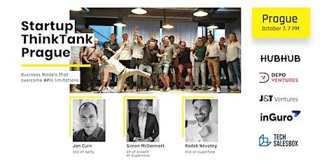 Business Models that overcome APIs limitations | Startup ThinkTank Prague tickets