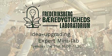 Sustainability Lab - Idea-Upgrading Expert mini-lab tickets