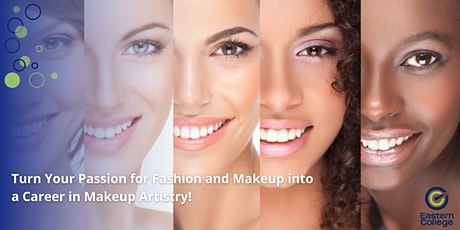 Turn your passion for fashion and makeup into a career in Makeup Artistry! tickets