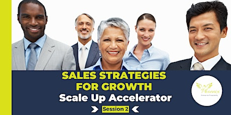 Sales Strategies For Growth tickets