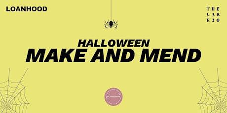 LOANHOOD: Halloween Make and Mend Workshop tickets