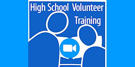 New Volunteer Orientation for High School Volunteers tickets