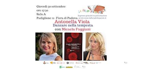 """Antonella Viola """"Danzare nella tempesta"""" con Micaela Faggiani biglietti"""