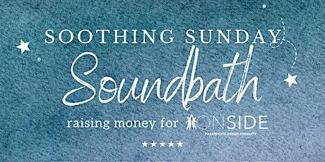 Sunday Soundbath for ONSIDE tickets