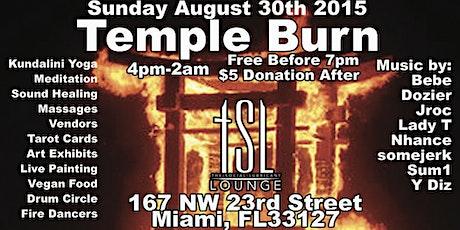 Temple Burn tickets