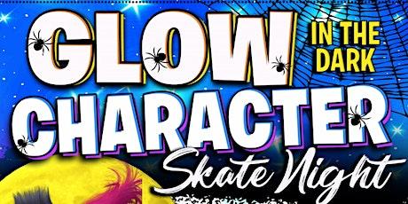 Glow in the Dark Halloween Character Skate tickets