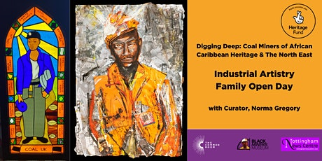 Digging Deep - Industrial Artistry Family Open Day tickets