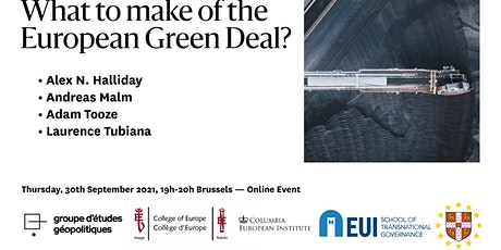 What to make of the European Green Deal ? tickets