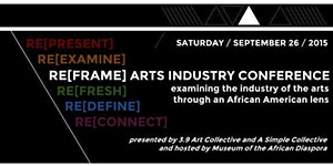 RE[FRAME] Arts Industry Conference - Conference Entry