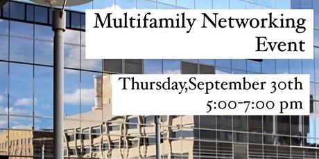 Multifamily Networking Event tickets