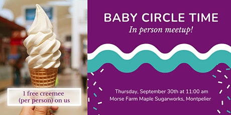 Baby Circle Time Meetup tickets