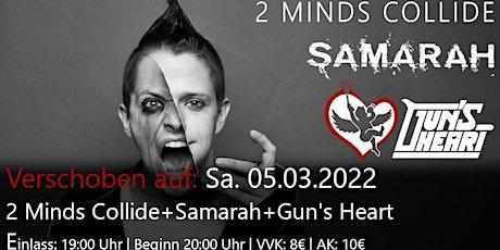 2 Minds Collide + Samarah + Gun's Heart Tickets
