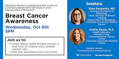 Breast Cancer Awareness Webinar tickets