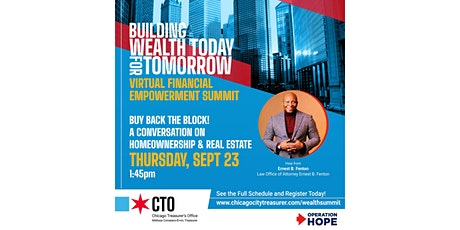 Ready for Building Wealth Today for Tomorrow tickets