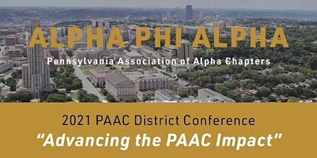 2021 PAAC District Conference tickets