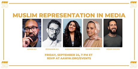 AAWW at 30: Muslim Representation in Media tickets