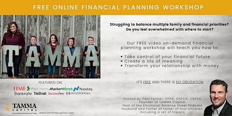 Financial Planning Workshop: Algebra Series of Family Financial Planning tickets