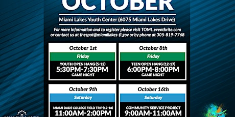 Youth Open Hang tickets