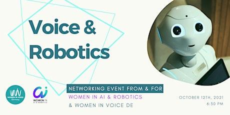 Voice & Robotics: Women in AI & Robotics and Women in Voice Germany tickets