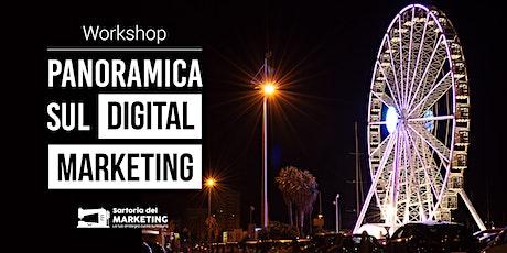 Panoramica sul Digital Marketing nel 2021: come sfruttarlo per crescere? biglietti