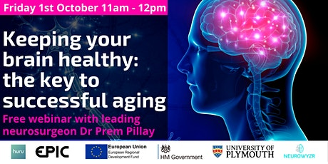 Keeping your brain healthy: The key to successful aging tickets