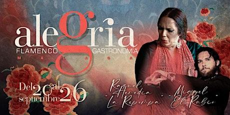 Programación del 20 al 26 de septiembre 2021 | Flamenco Málaga entradas