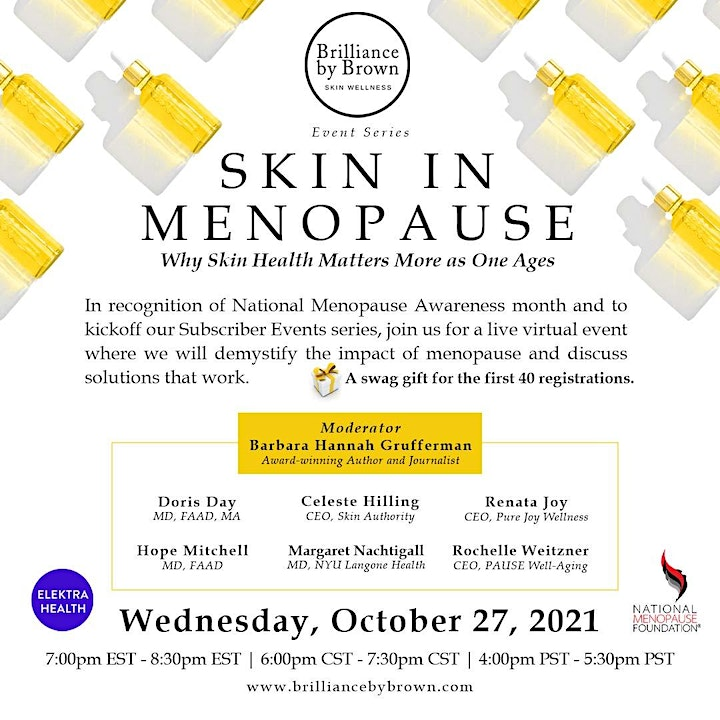 Menopause, Your Skin Health, Your Well-being image