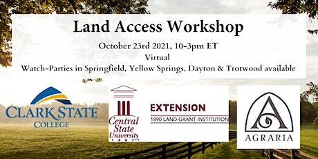 Land Access Workshop tickets